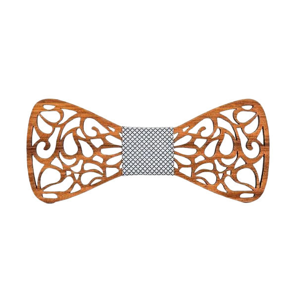 Wooden Bow Tie - <br/> The Atlantic Kauri