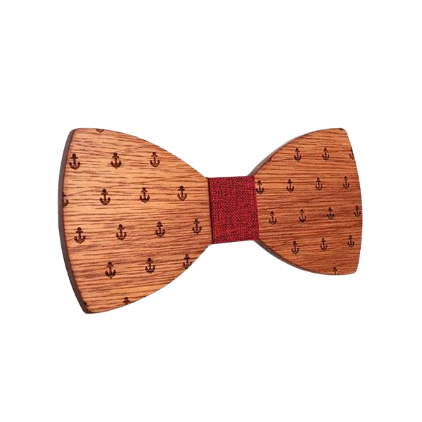 Wooden Bow Tie - <br/> The Cluster Poplar