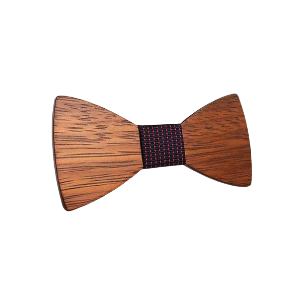 Wooden Bow Tie - <br/> The Great Walnut Tree