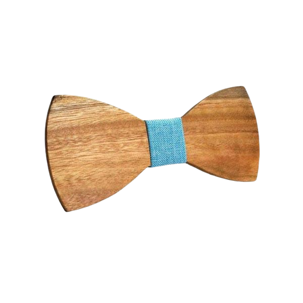 Wooden Bow Tie - <br/> The White Ash