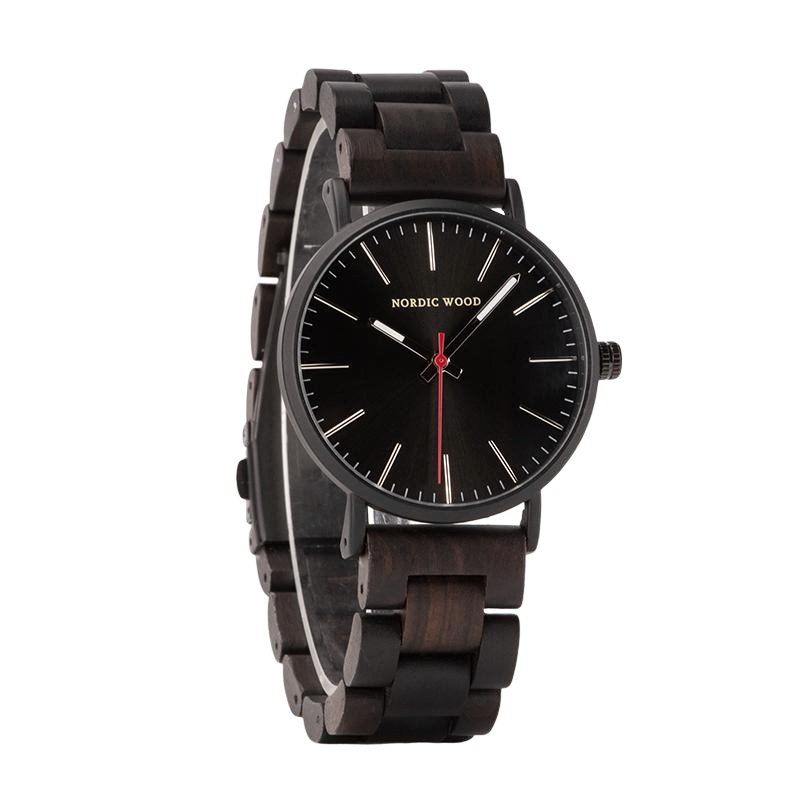 Men's Wooden Watch - <br/> The Hawthorn