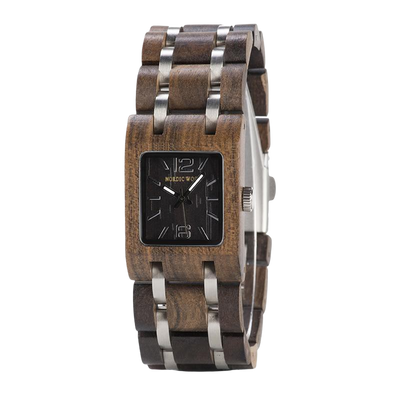 woman wooden watches