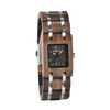 Square Dial Wood Watch