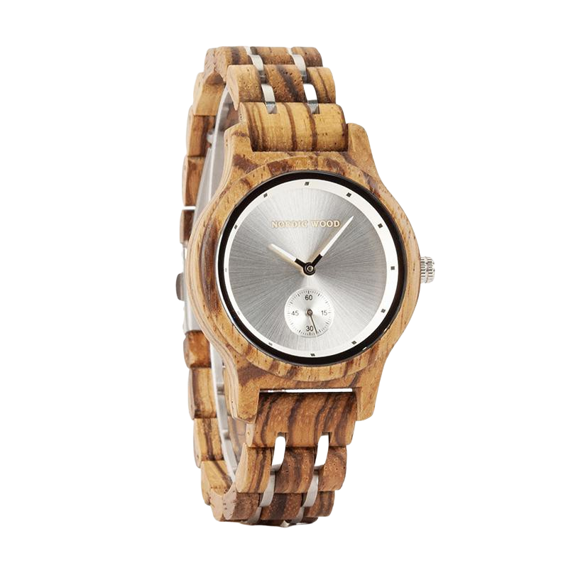 Women's Wooden Watch - <br/> The Camellia