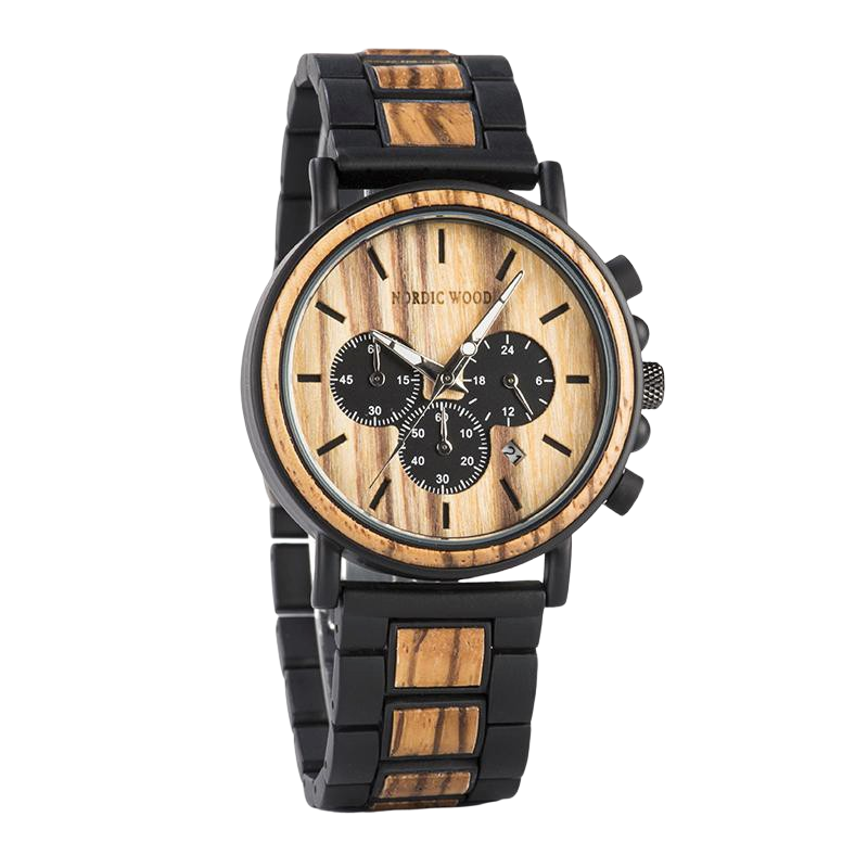 Men's Wooden Watch - <br/> The Anthemis