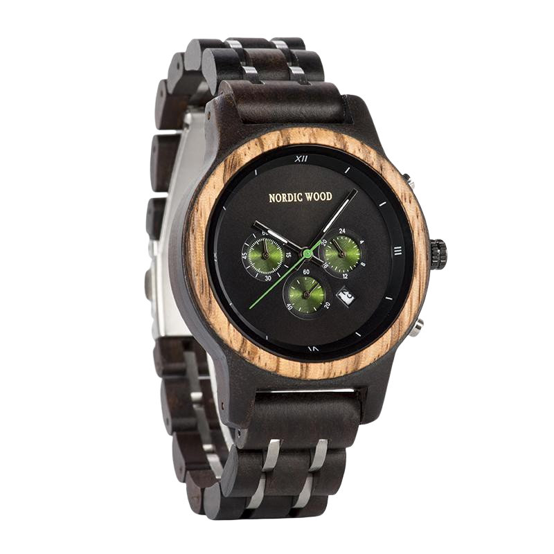 Women's Wooden Watch - <br/> The Black Mimosa