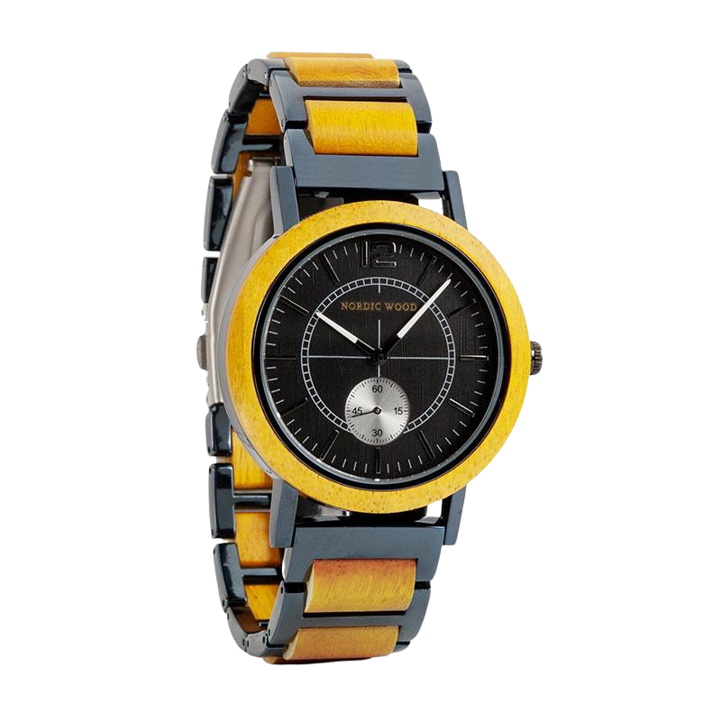 Men's Wooden Watch - <br/> The Lipka