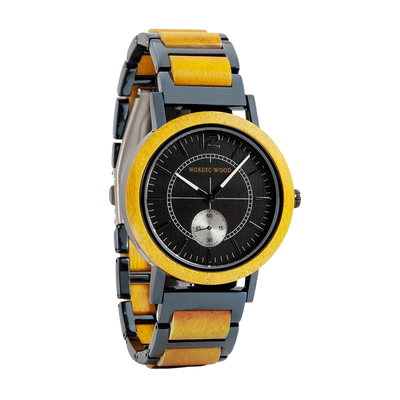 Yellow Wood watch