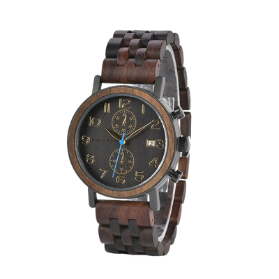 Trendy wood watch