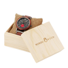 Wood watch and box