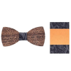 Wooden Bow Tie and Suit Pocket