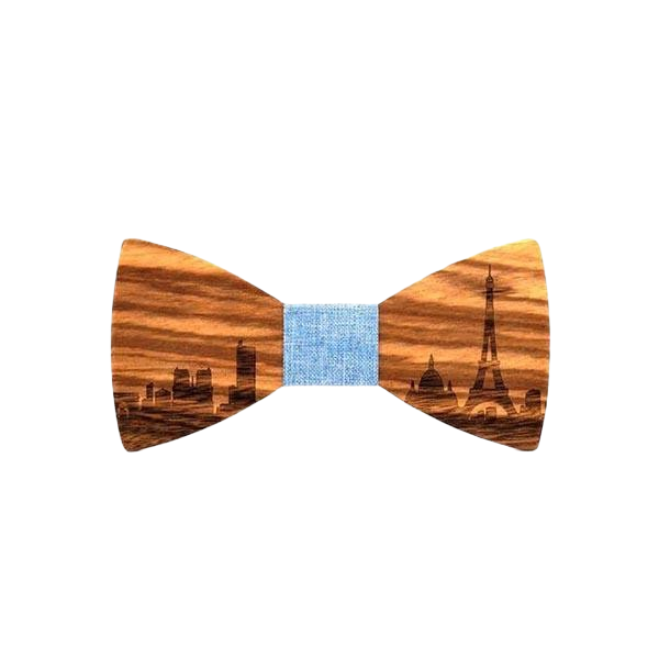 Wooden Bow Tie - <br/> The Traveler Maple