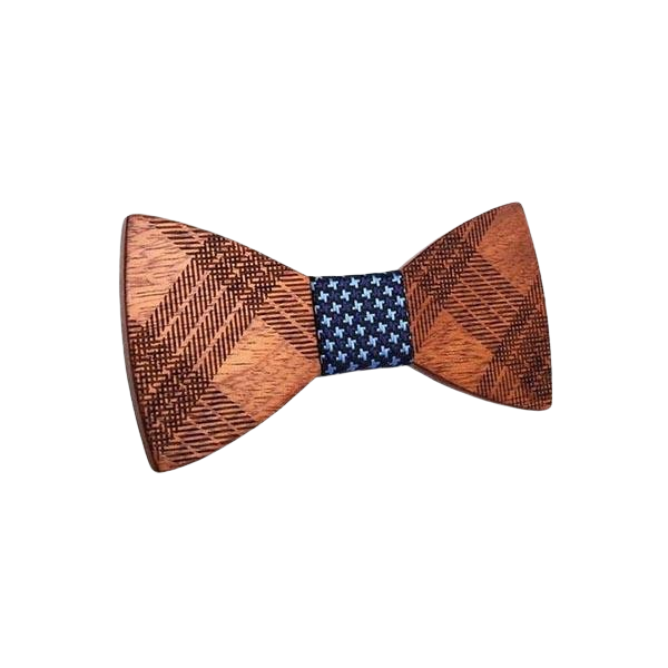 Wooden Bow Tie - <br/> The Chestnut