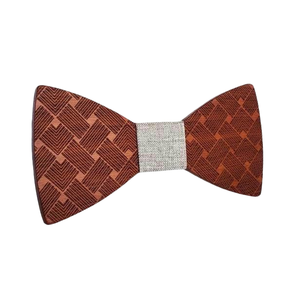 Wooden Bow Tie - <br/> The Cherry Tree