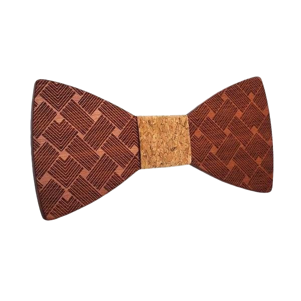Wooden Bow Tie <br/> The Leaf Cherry Tree