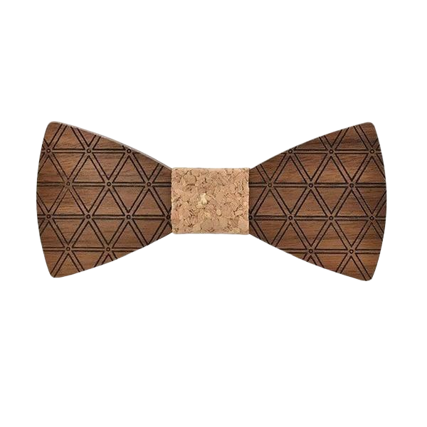 Wooden Bow Tie - <br/>The Jordanian Fig Tree