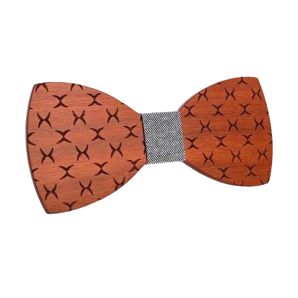Wooden Bow Tie - <br/> The Hevea of Peru