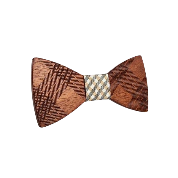 Wooden Bow Tie - <br/> The Chestnut Tree