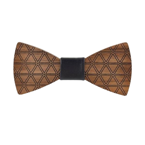 Wooden Bow Tie - <br/> The Omani Fig Tree