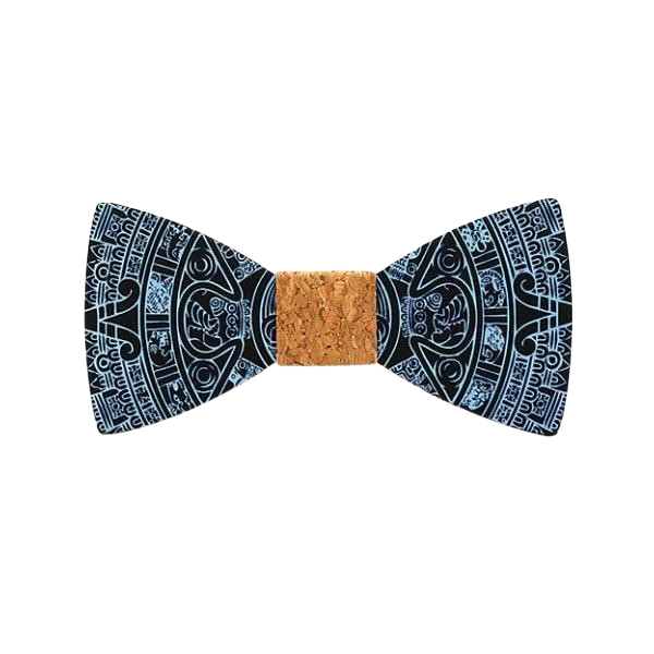 Wooden Bow Tie - <br/> The Autumn Tamaris