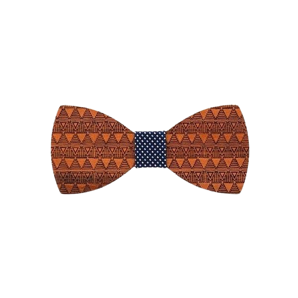 Wooden Bow Tie - <br/> The Redwood