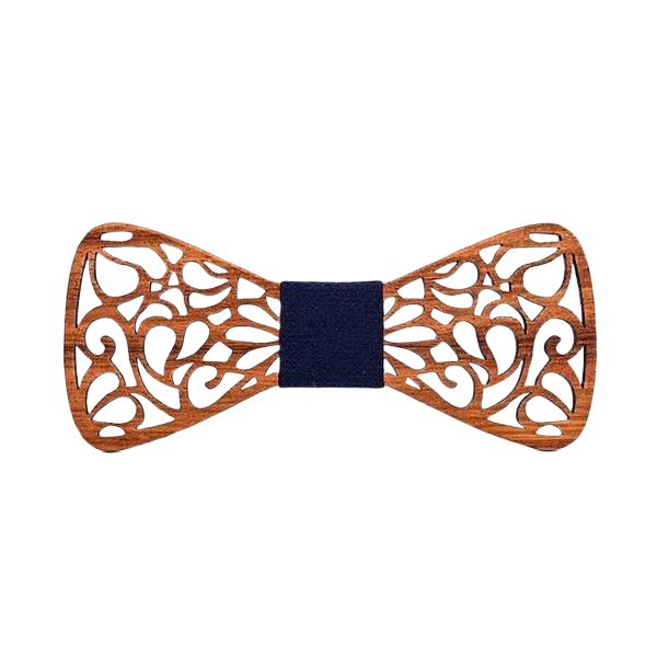 Wooden Bow Tie - <br/> The Pacific Kauri