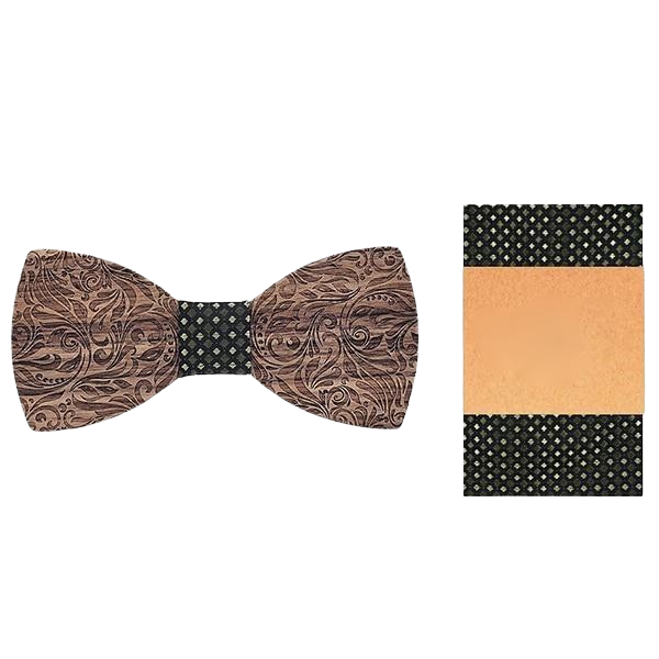 Wooden Bow Tie - <br/> The Siberian Gainer