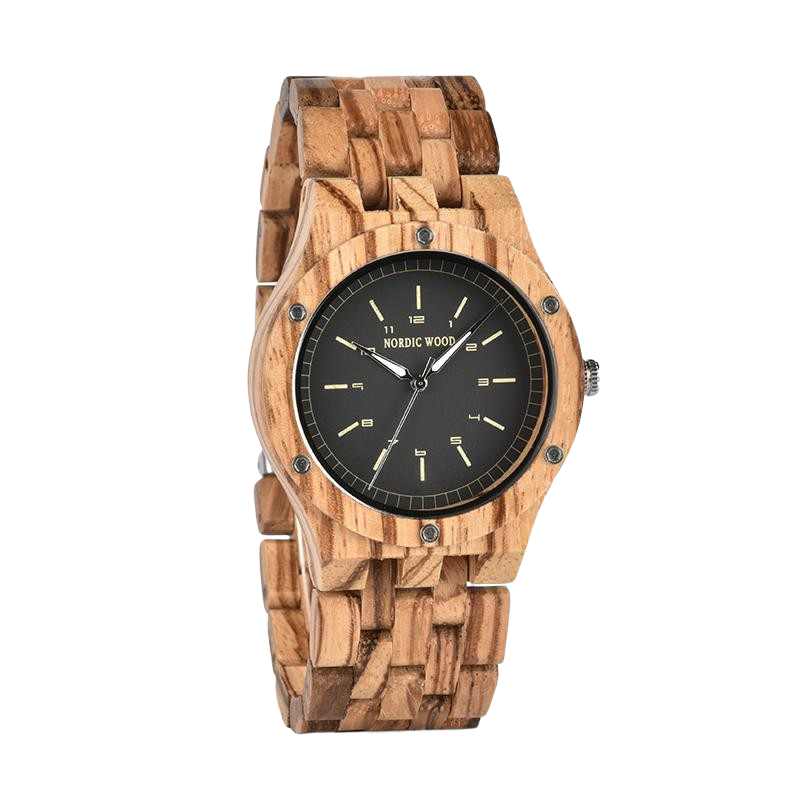 Zebrawood Wooden Watch