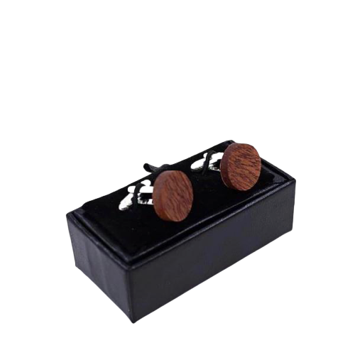 Dark Brown Cufflinks