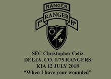 Load image into Gallery viewer, Christopher Celiz Memorial Shirt