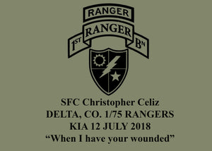 Christopher Celiz Memorial Shirt