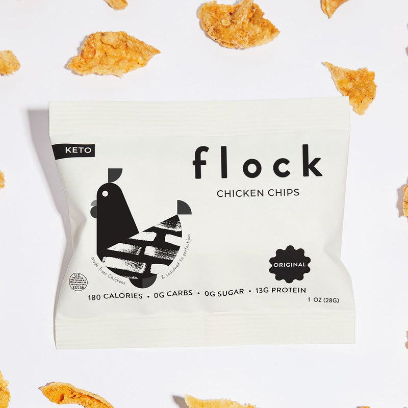 Flock Chicken Skin Chips