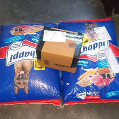 dry and wet dog food for donation