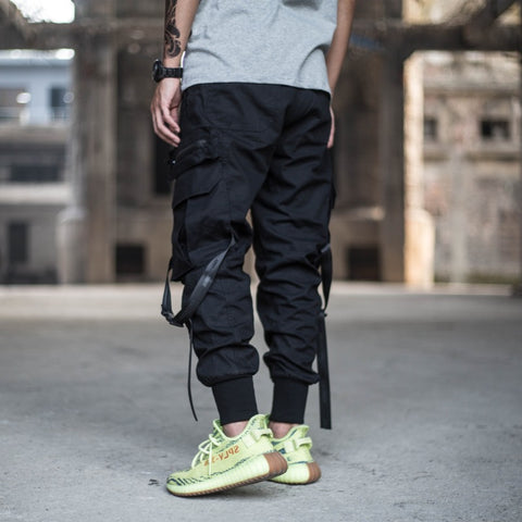 Men's Multi-pocket Pant  Hip Hop Style
