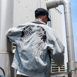 Men's Denim Jackets High Street Hip Hop Style