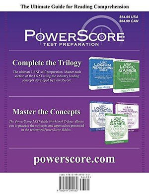The Powerscore Lsat Reading Comprehension Bible (Powerscore Lsat Bible Series)
