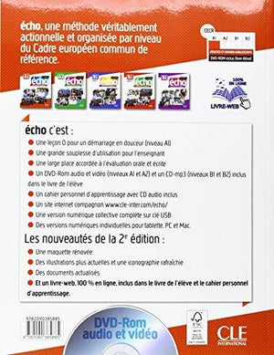 Echo (Nouvelle Version) Livre De L Eleve + Dvd-Rom + Livre-Web A1 2E Edition (French Edition)