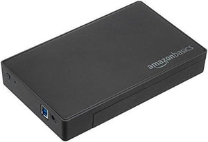 Amazonbasics 3.5-Inches Sata Hard Drive Enclosure - Usb 3.0