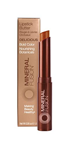 Mineral Fusion Lipstick Butter, Delicious, 0.14 Ounce (Packaging May Vary)