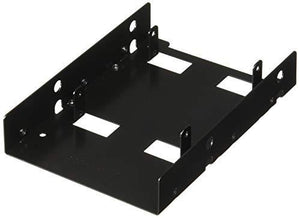Sabrent 2.5 Inch To 3.5 Inch Internal Hard Disk Drive Mounting Bracket Kit (Bk-Hddf)