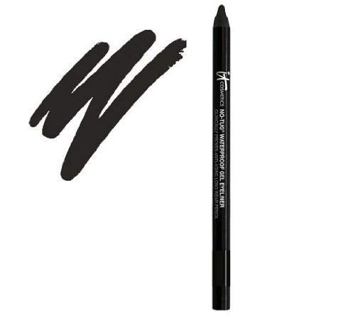 IT COSMETICS Superhero No-Tug Waterproof Gel Eyeliner .017 oz. 50g. (Black)