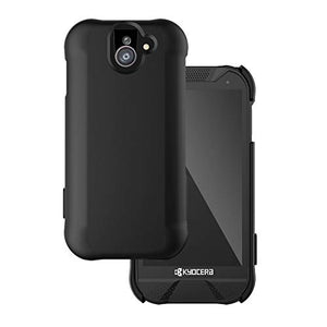Wireless Protech Wireless PROTECH DuraForce Pro 2 Case, Soft Touch Smooth Finish Case for Kyocera DuraForce Pro 2 (Black)