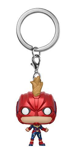 Funko Pop! Keychain Marvel: Captain Marvel - Captain Marvel Masked