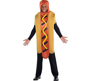 Amscan Adult Hot Diggity Hot Dog Costume