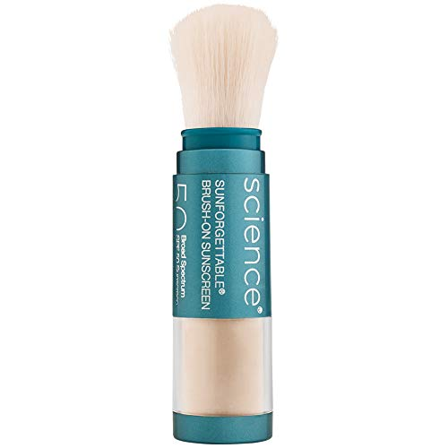 Colorescience Brush-On Sunscreen Mineral Powder for Sensitive Skin, Fair