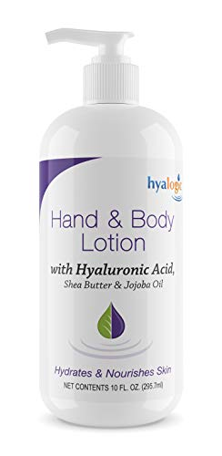 Hyalogic Episilk Hyaluronic Acid Lotion: Renewing Hand and Body Lotion w/Hyaluronic Acid for Deeply Nourished Skin - Shea Butter & Jojoba Oil Infused, Body Hyaluronic Cream, Daily HA Lotion, 10 oz.