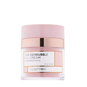 BeautyBio Zenbubble Gel Cream. Helps reduce the visible effects of stress: redness, breakouts, accelerated wrinkling, excessive dryness and enlarged pores, 1 ct.