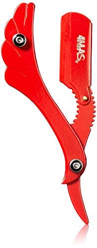 4MAS Butterfly Straight Razor (Red)