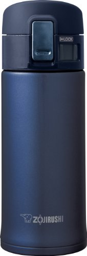 Zojirushi Stainless Steel Mug, 12-Ounce, Smoky Blue