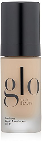 Glo Skin Beauty Luminous Liquid Foundation SPF 18 in Naturelle - 8 Shades - Sheer Coverage, Dewy Finish - 1 fl. Oz.